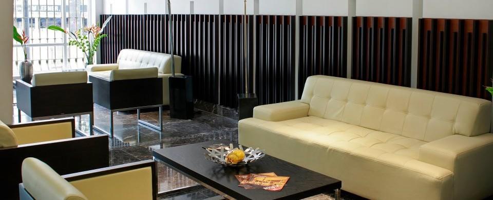 Lobby. Fuente: Hotel Continental. Fuente: fanpage facebook